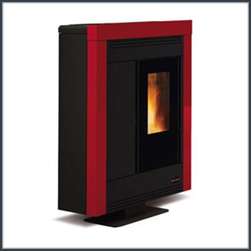 extraflame-souvenir-steel-rød